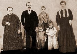 Pedro Ohse e Família